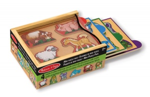 Mini-Puzzle Pack Animals